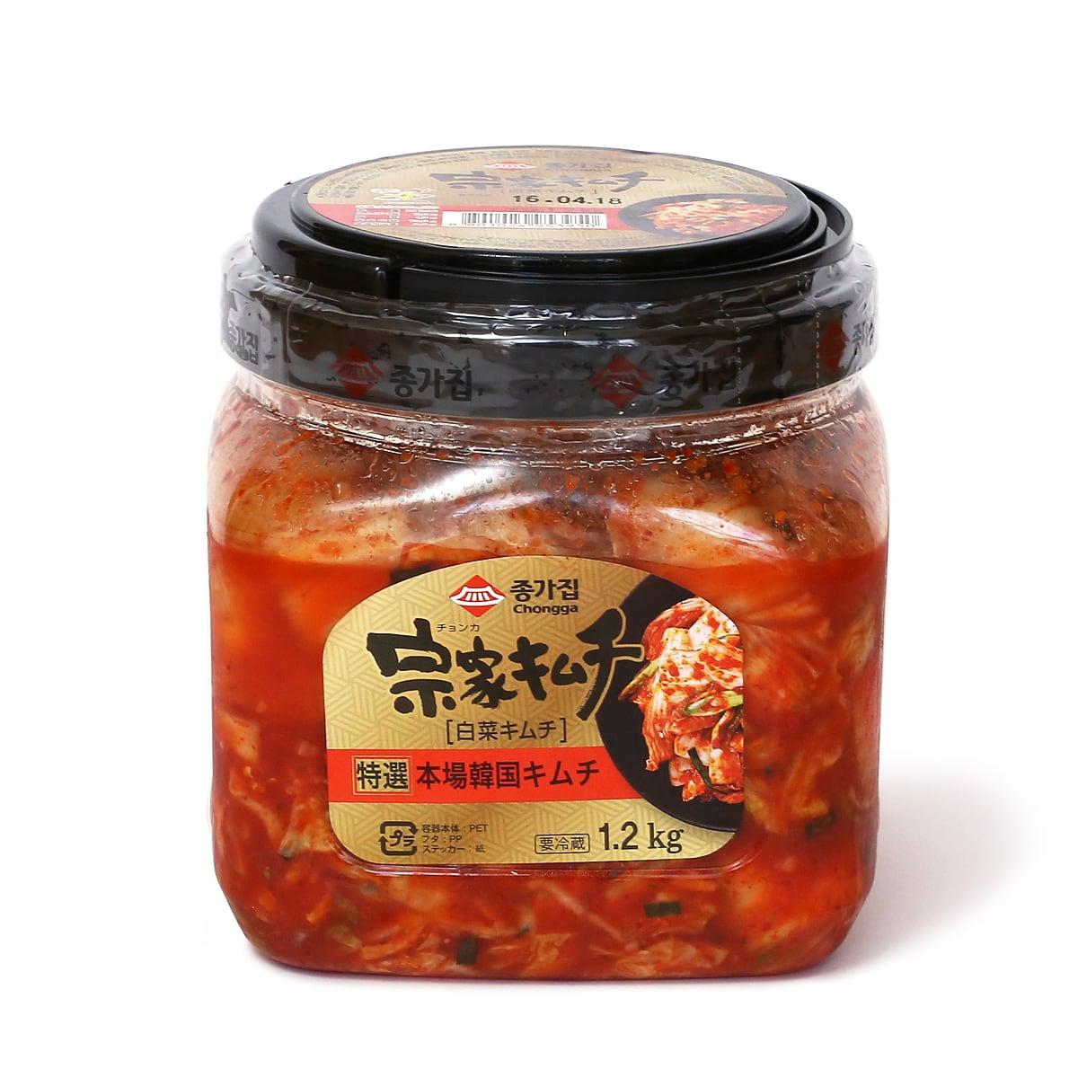 宗家(チョンカ)特選キムチ 1.2kg