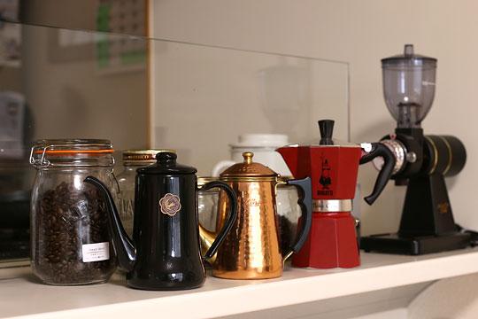 我が家のコーヒー器具