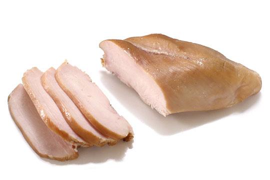 サラダチキン(さくらどりムネ肉使用) カット断面