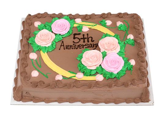 ハーフシートケーキ チョコレート 全体像