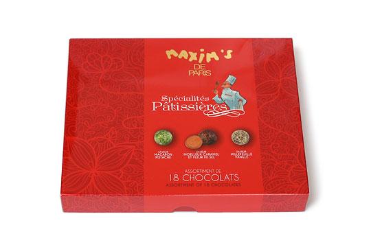 マキシム・ド・パリ チョコレートアソート