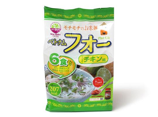 ベトナムフォー チキン味 6食セット
