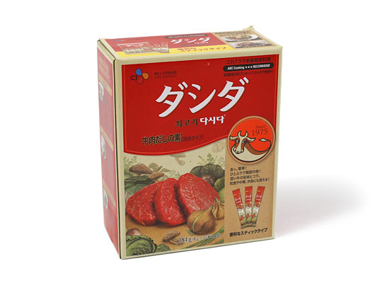 ダシダ 牛肉だしの素(粉末タイプ)