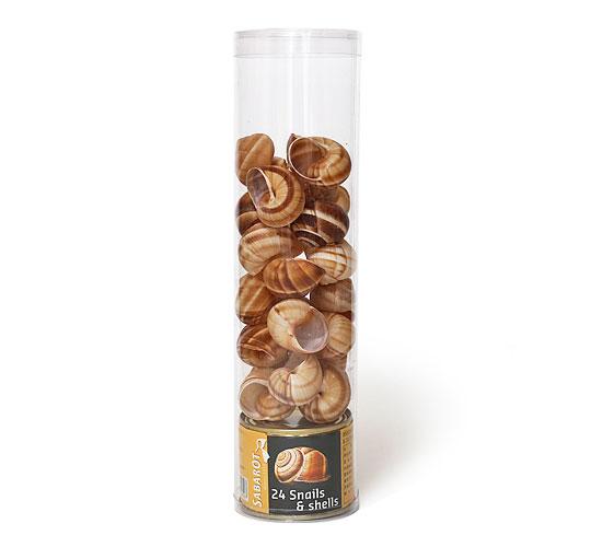 エスカルゴの缶詰(殻24個付き)
