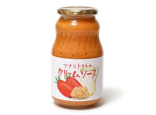 サンクゼール ツナとトマトのクリームソース