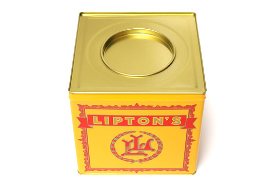 リプトン ティーバッグギフト缶