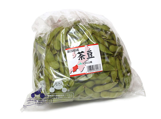 新潟県産 茶豆 生 1kg