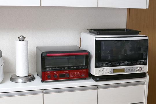 HITACHI コンベクションオーブントースター HMO-F100 設置してみた