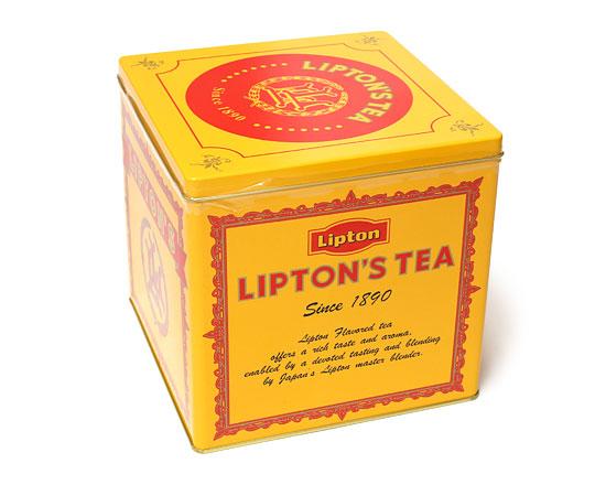 LIPTON ティーバッグ ギフト缶