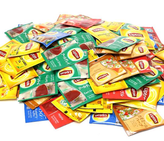 LIPTON ティーバッグ ギフト缶 中身(100袋)
