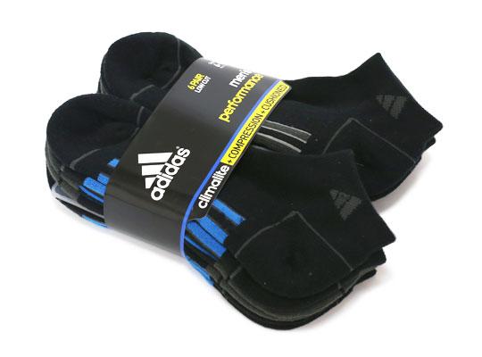 adidas メンズソックス 6足組