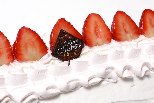 クリスマスロールケーキ 2016 アップ