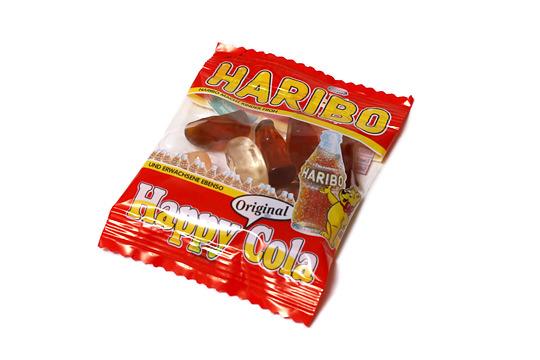 ハリボー ハッピーコーラ 小袋