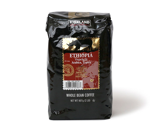 カークランドシグネチャー エチオピア イルガチェフェコーヒー