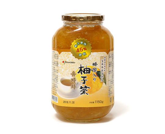 蜂蜜入り柚子茶