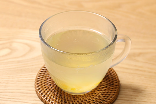 蜂蜜入り柚子茶 作ってみた