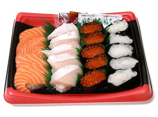 特選握り寿司 20貫 開封