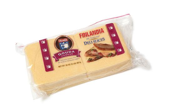 フィンランディア ゴーダ スライスチーズ