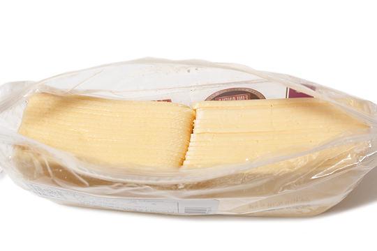 フィンランディア ゴーダ スライスチーズ 開封