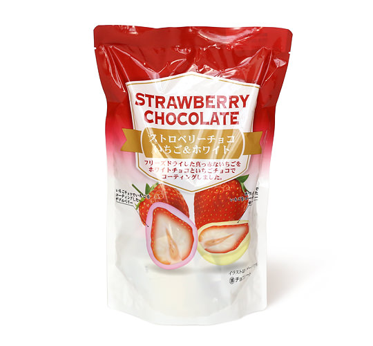ストロベリーチョコレート いちご&ホワイト