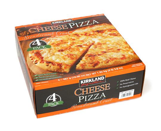 カークランド チーズピザ ブレッドクラムクラスト(冷凍ピザ)