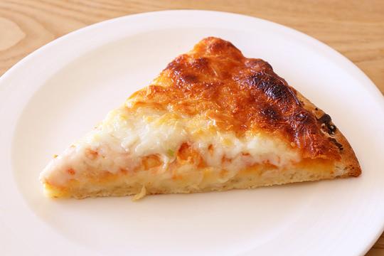 カークランド チーズピザ ブレッドクラムクラスト(冷凍ピザ) 1カット