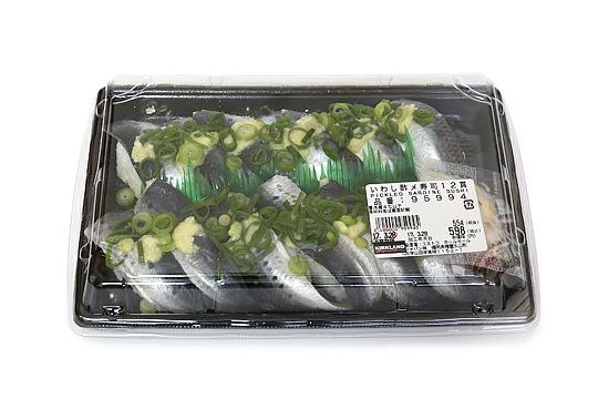 いわし酢〆寿司12貫