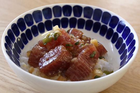 マグロのポキ丼 アヒ・ポキ(ポケ)