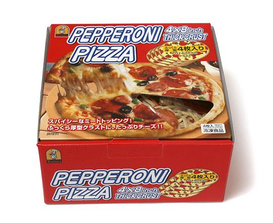 トロナ ペパロニピザ 4枚