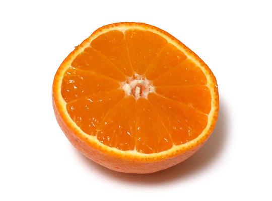 サンキスト ミネオラオレンジ 半分にカット