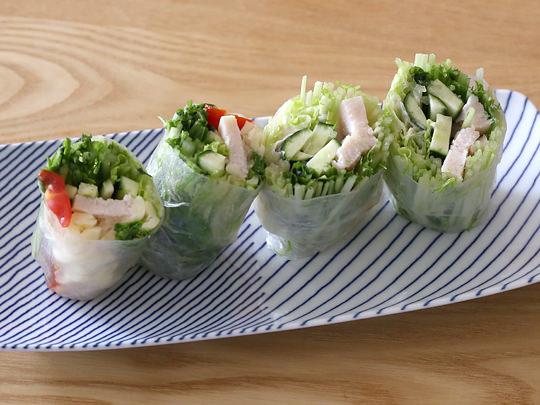 ビネガーシェフ たっぷりたまねぎ酢 生春巻きサラダ