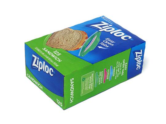 ジップロック サンドイッチバッグ 1個