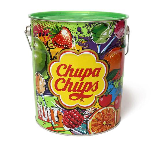 チュッパチャプス フルーツアソート缶