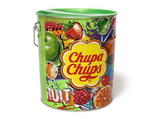 チュッパチャプス フルーツアソート缶 デザイン