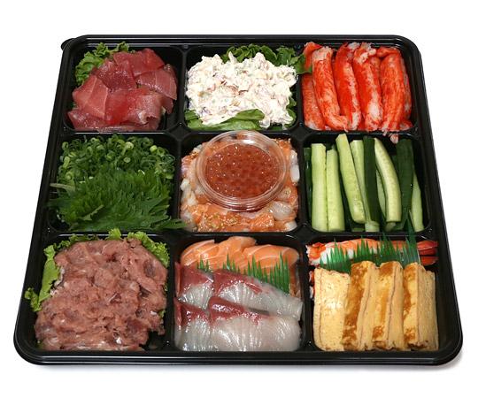 コストコの手巻き寿司セット 開封