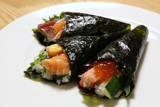 コストコの手巻き寿司セットで作った手巻き寿司