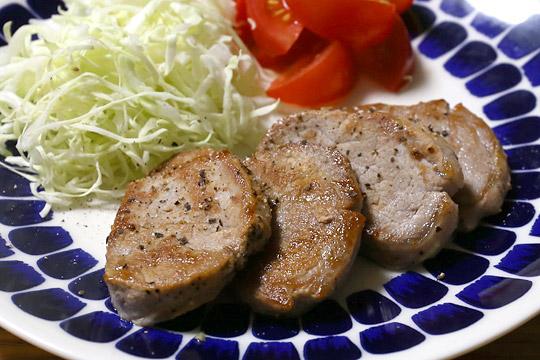 カナダ産豚肉 三元豚ヒレで作ったポークソテー