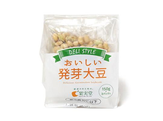 果実堂 美味しい発芽大豆 150g☓3