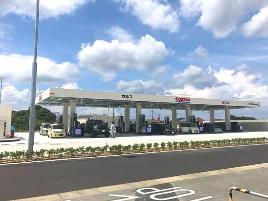 コストコ北九州ガスステーション(ガソリンスタンド) 外観