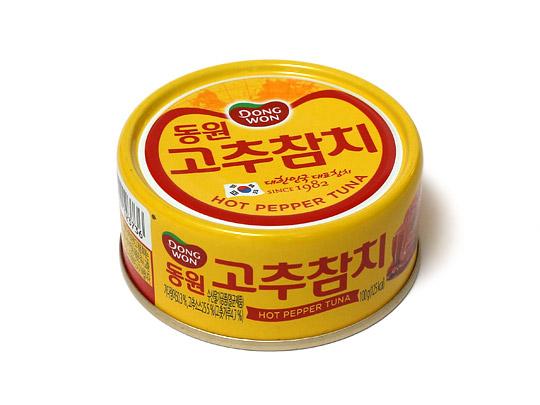 唐辛子ツナ 味付けかつお 1缶