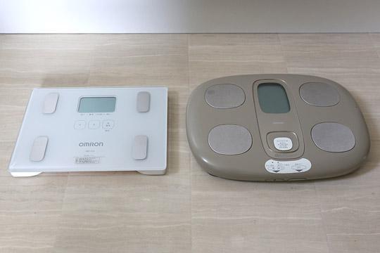 オムロン 体重体組成計 HBF-212 HBF-200との比較