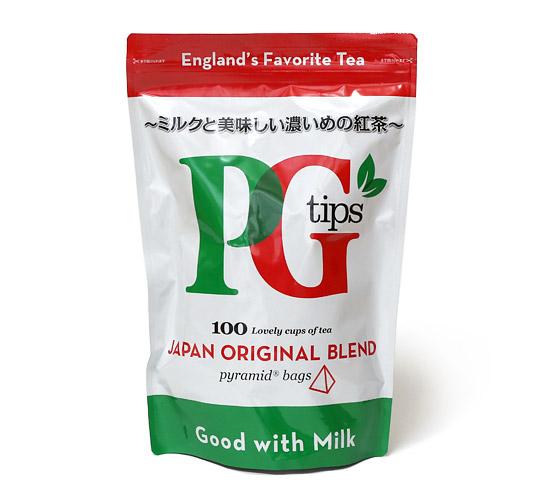 PGtips tea ピラミッド型ティーバッグ