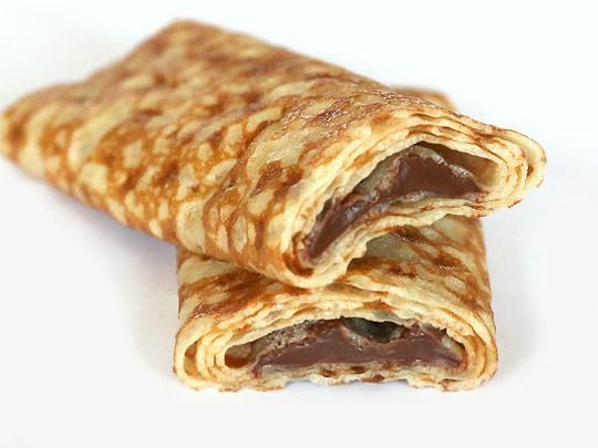 TIGREAT チョコレートクレープ(フランス産) カット断面