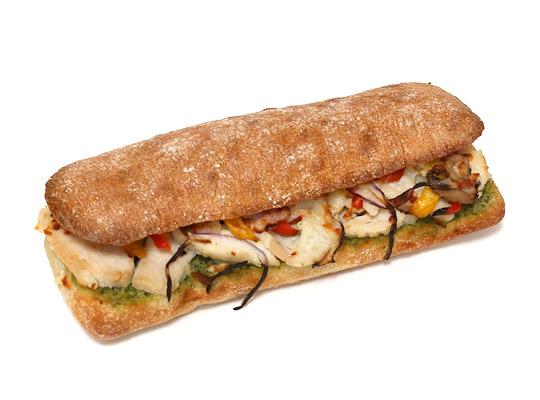 チキンチャバタホットサンドイッチ