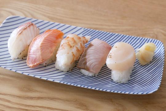 特選ファミリー盛 炙り寿司