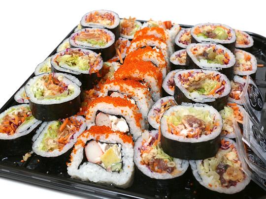 寿司サラダ巻き 36個 開封