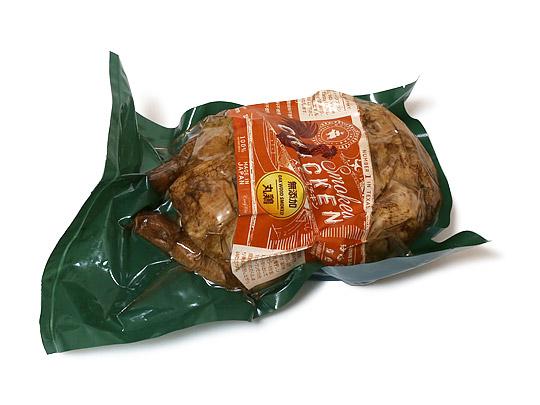ホワイトスモーク 無添加スモークチキン丸鶏