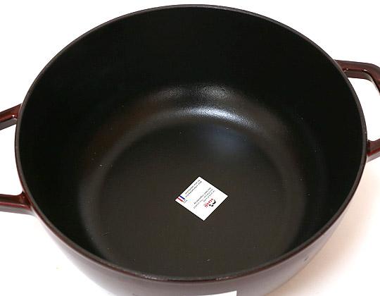 STAUB(ストウブ)フレンチルースターココット 24cm 鍋底の形状