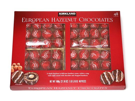 カークランドシグネチャー ヨーロピアンヘーゼルナッツチョコレート