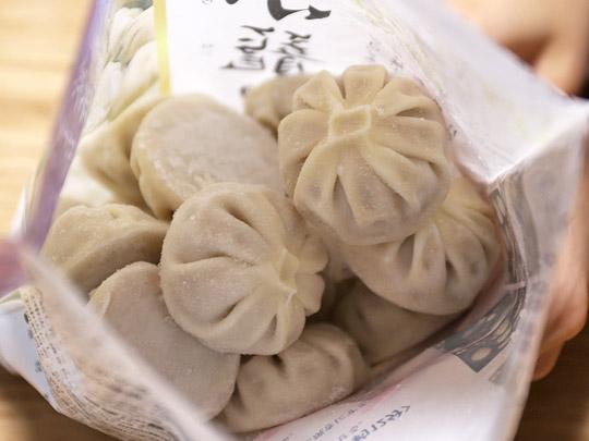 中華・高橋 冷凍生小籠包 開封中身(バラ凍結)
